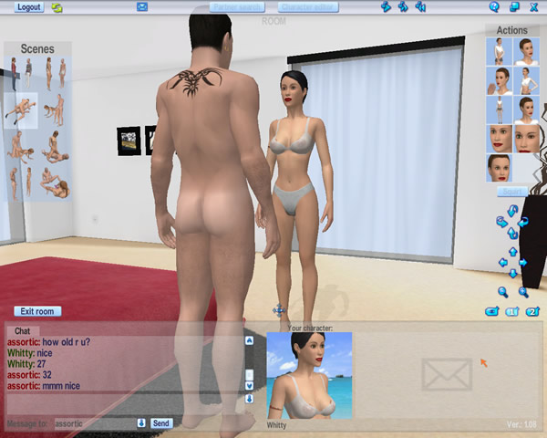 nude uncensored video game sex